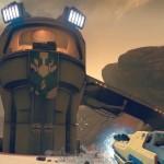 [PS4] Destinyのゲーム内にHaloのマスターチーフっぽい建造物