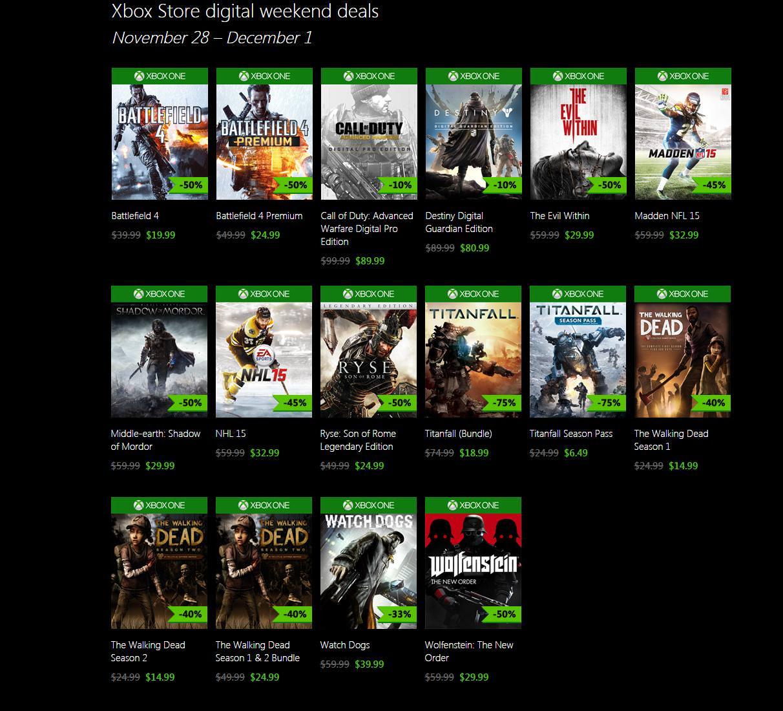 Xbox blackfridaysale