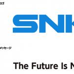 SNKプレイモアのロゴマークが旧SNKのロゴに変更