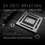 「Xbox Scorpio」は6/11開催のE3メディアブリーフィングで発表