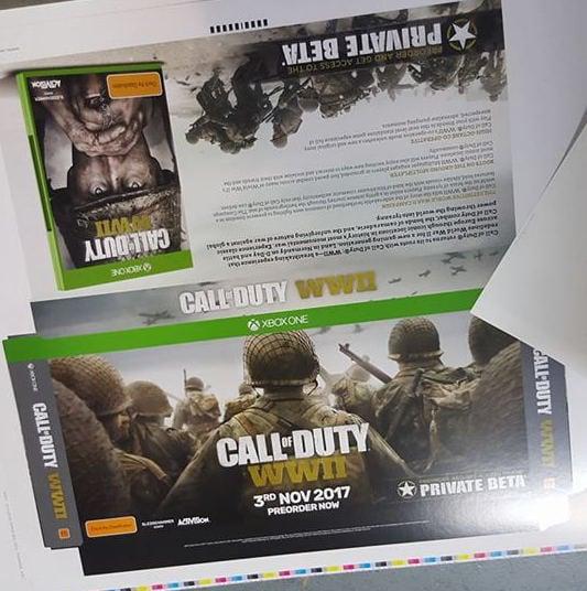 「Call of Duty: WWII」の発売日は11月3日、店頭POPで明らかに