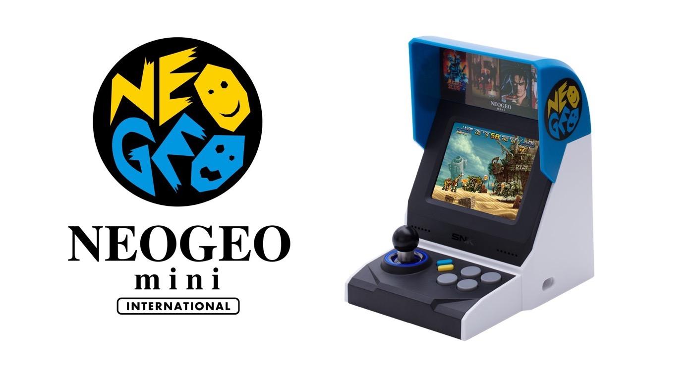NEOGEO miniインターナショナル版が9/10から予約受付開始