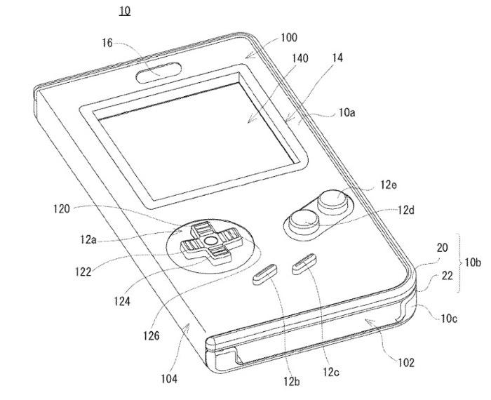 任天堂がスマホをゲームボーイに変えるケースの特許を取得していた