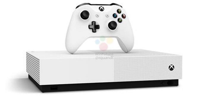 ディスクメディアを廃止した「Xbox One S All Digital」が登場予定