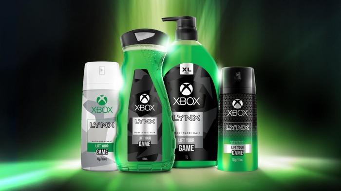 ゲーマーの汗臭さに!Xboxブランドのデオドラント商品「Xbox Lynx」