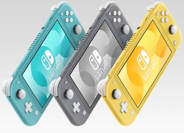 携帯ゲーム機Nintendo Switch Lite、普通のSwitchとはどう違う?