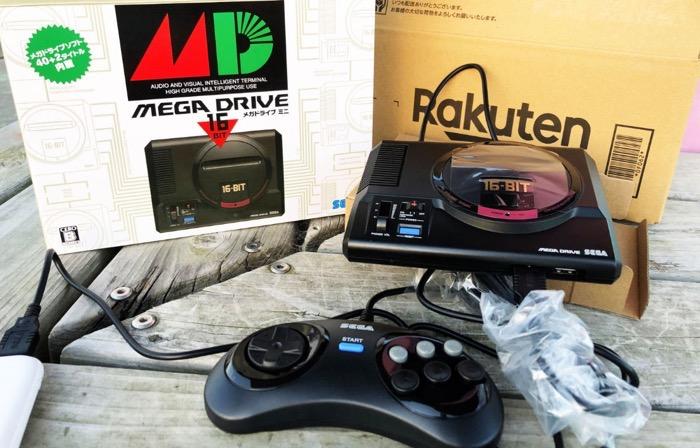 SEGA メガドラミニ 開封レビュー Mega Drive Mini Unboxing