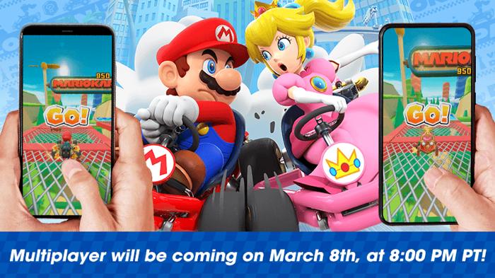 マリオカートツアーが待望のマルチプレイヤーモードに対応!