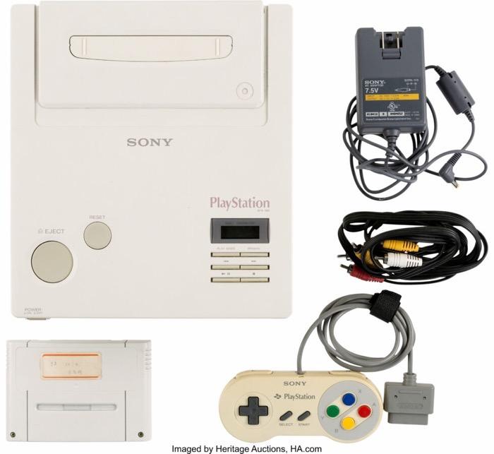 任天堂と共同開発の初代プレステ試作機に3000万円の価値!?