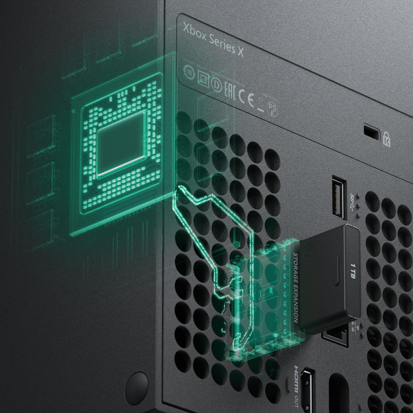 Xbox Series Xのスペック公開、専用メモリカードもあるけどUSBの外付けSSDでプレイ可能