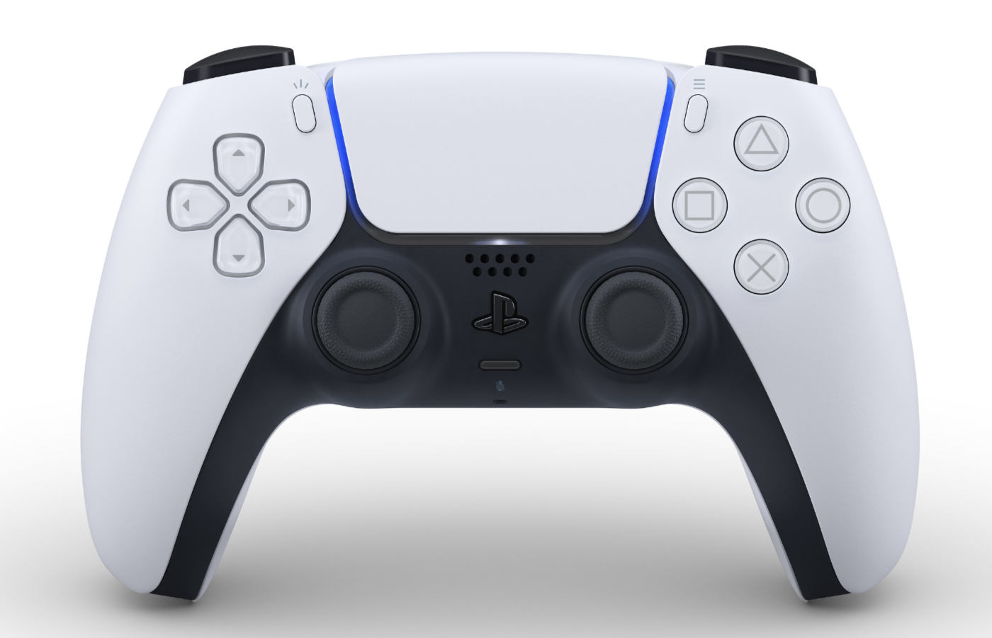 PS5のコントローラーDualSense公開、白カラーにXboxライクな形状