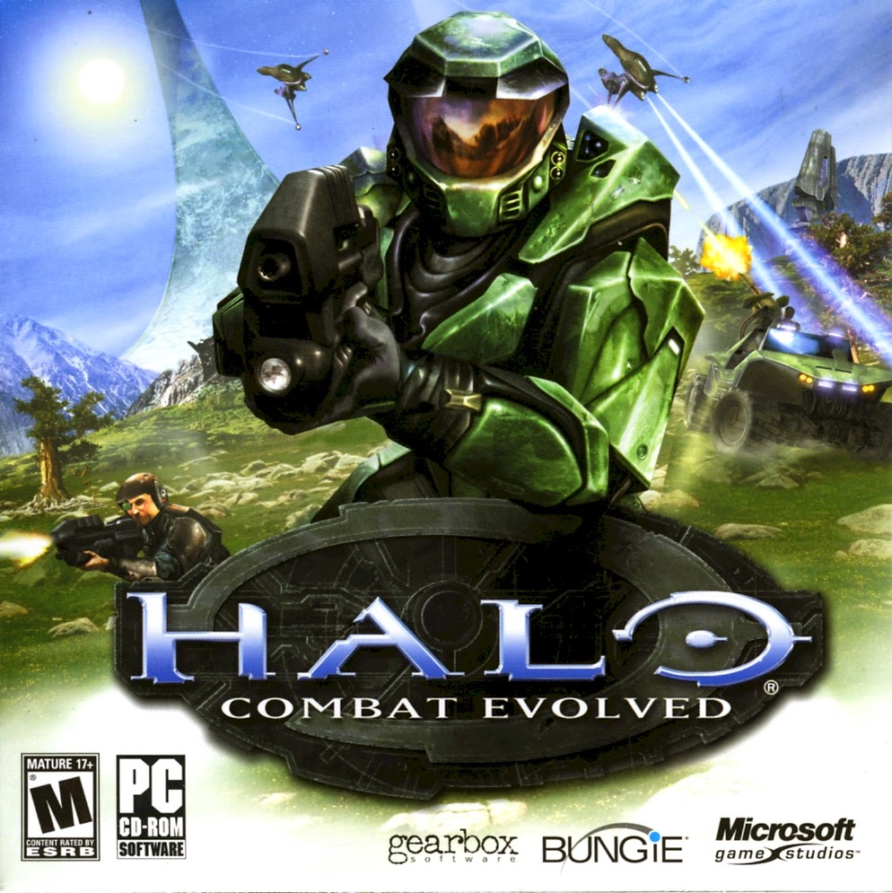 Halo Combat Evolved Cover Art