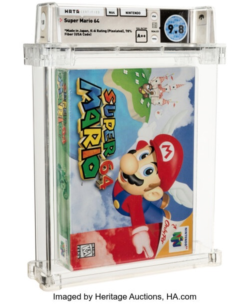 Mario64 Auctions