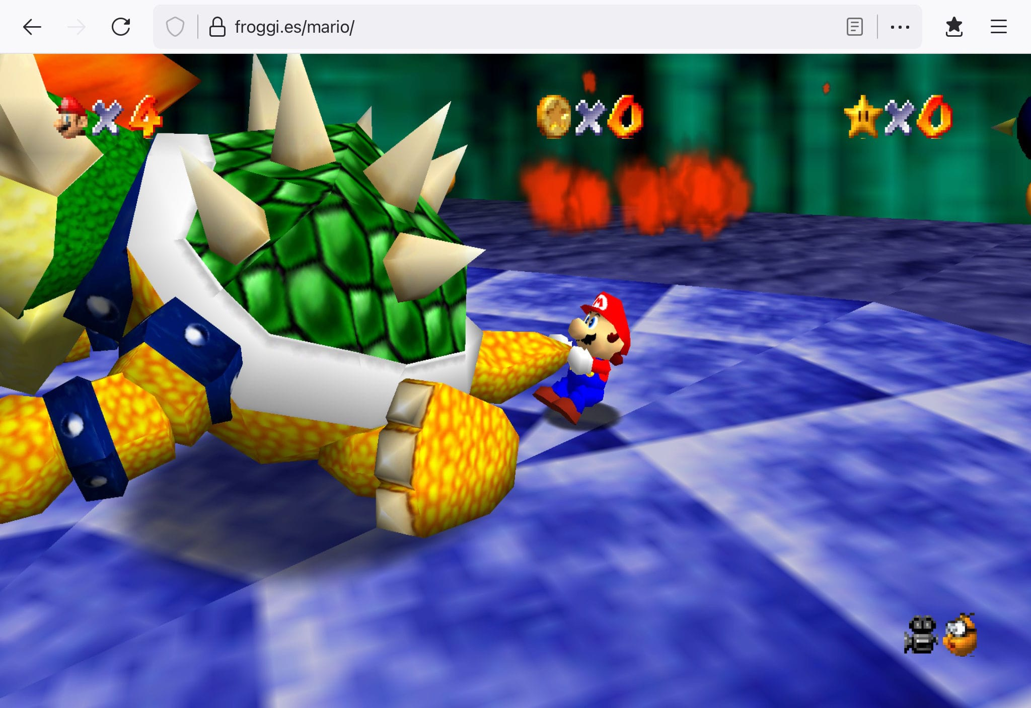 Mario64 on Browser 02