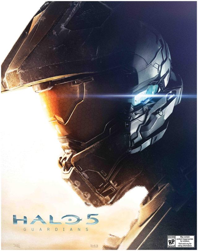 Halo 5 PreOrder Poster bonusLG