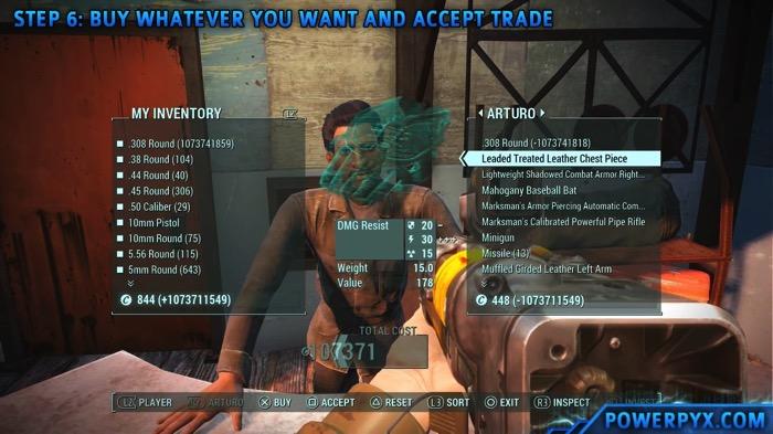 Fallout4 MoneyGlitch 09